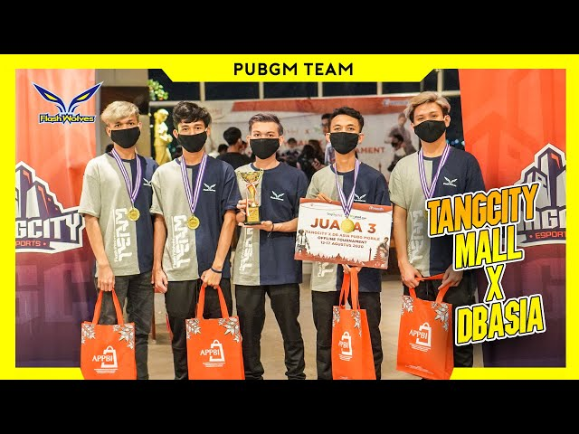 FLASH WOLVES TOURNAMENT OFFLINE PUBG MOBILE | TANGCITY MALL X DB ASIA