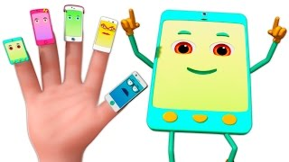 Cellphone Finger Family 3D | Finger Family Rhymes | 3d Music Video For Children