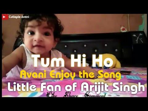 Cuty Avani Enjoy Song Tum Hi ho. Little...