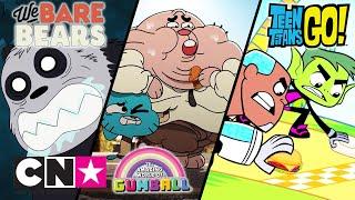 Między nami, misiami + Gumball + Młodzi Tytani: Akcja! | Burgers! | Cartoon Network