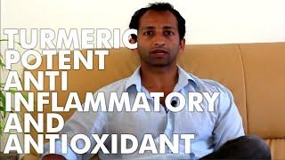 Turmeric potent anti inflammatory and antioxidant | Manu Kalia | Video 44 | TridoshaWellness