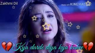 Hum To Dil Se Hare ❤️ Har aaina toota lage hai ❤️ Sad song | Whatsapp Status Song
