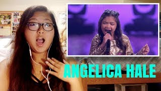 """Angelica Hale: 10 Year Old Vocalist Stuns With """"Symphony"""" - America's Got Talent 2017 REACTION!!!"""