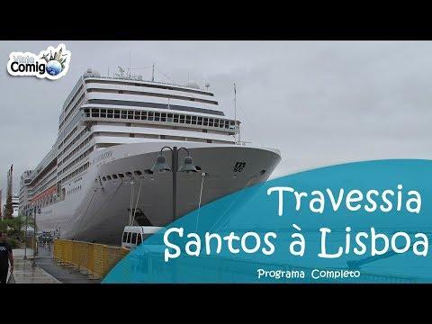 TRAVESSIA ENTRE BRASIL E PORTUGAL | PROGRAMA VIAJE COMIGO