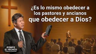 """Película evangélica """"Rompe el hechizo"""" Escena 6 - ¿Es lo mismo obedecer a los pastores y ancianos que obedecer a Dios?"""