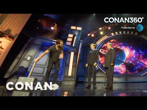 CONAN360°: Will Arnett Wields Thor's Hammer