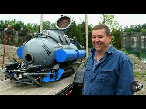 Used Propane Tank Becomes Submarine | Outrageous Acts of Science