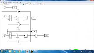 4-Commande en vitesse d'un moteur a courant continu en boucle ouverte sur matlab