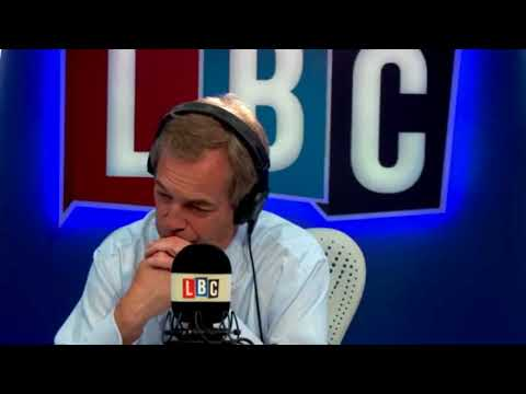 Nigel Farage on Boris Johnson's Illegal Immigrant Amnesty Comment