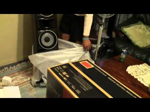 How i got a free sony 7 2 muteki 3d home theatre system for Mueble muteki 5 2