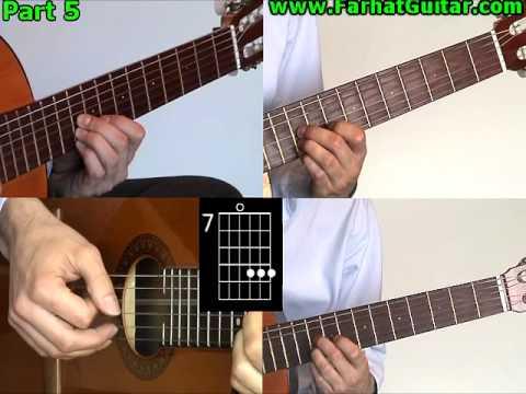 Ojala - Silvio Rodriguez Guitarra Leccion 7/7 Cancion Completa www.FarhatGuitar