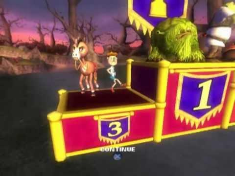 Shrek Smash N Crash Racing Ps2 Gameplay Youtube