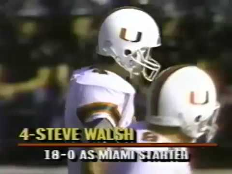 1988 Catholics Vs. Convicts -- Notre Dame 31 Miami 30