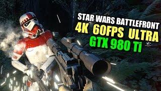 Star Wars Battlefront - 4K 60fps ULTRA - GTX 980 Ti
