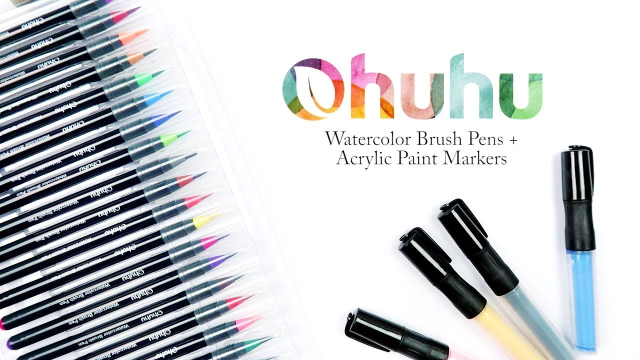 How To Paint With Acrylic Ink