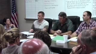 Robinson Township Supervisor Issues Stern Warning to Audience