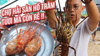Food For Good #528: Seafood market| Tôm hùm ốc hương chợ hải sản Hồ Tràm rẻ mà tươi ngon quá !!!