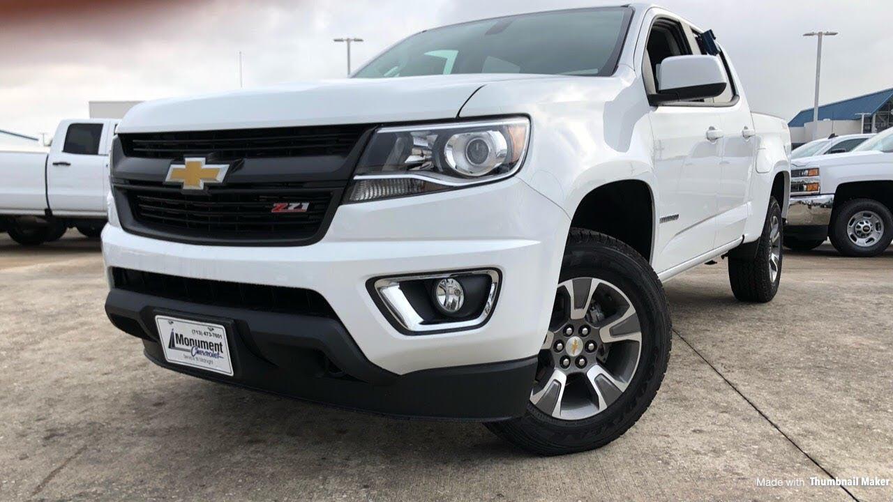 Chevy Colorado 2018 >> 2018 Chevrolet Colorado Z71 3 6l V6 Review
