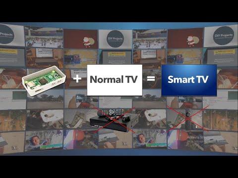 Smart Stick Using Raspberry Pi Convert Normal/CRT TV into Smart TV