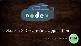 NodeJS căn bản - Bài 3: Tạo ứng dụng đầu tiên