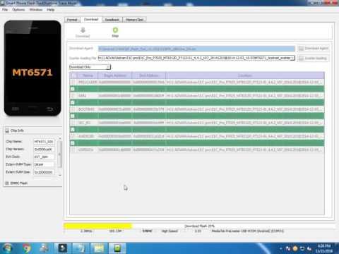 Cara Flash MTK Android dengan SP Flash Tool