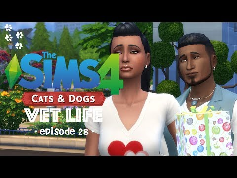 Sims 4 Cats & Dogs Ep 28: The Drop Off...