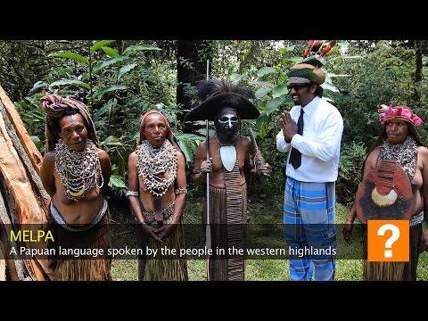 How to speak Melpa: Wilbur in Papua New Guinea