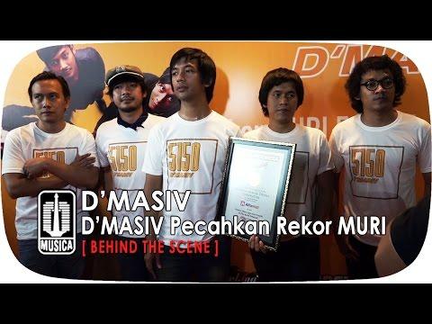 D'MASIV Pecahkan Rekor MURI | BTS Part 5