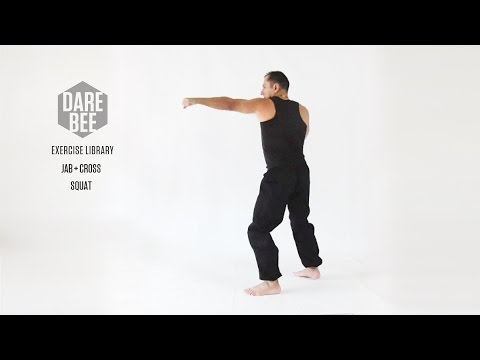 Exercise Library: jab + Cross + Squat