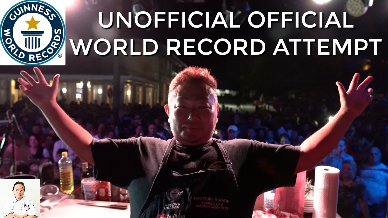Unofficial Official Guinness World Record Attempt Youtube