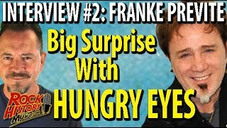 "Franke Previte Remembers Joy & Embarrassment of ""Hungry Eyes"" From ""Dirty Dancing"""