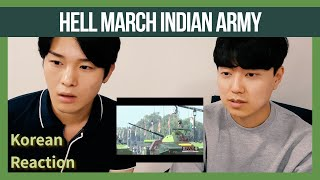 KOREAN Reaction on Hell March Indian Army | 2019 Republic day Parade