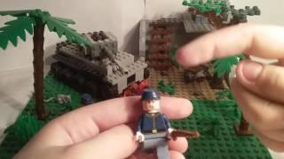 Лего самоделка #23 на тему Вторая Мировая (Французкая война)
