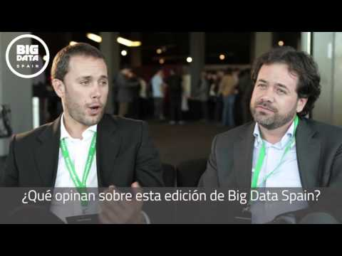 Interview to Isaac Ciprés & Francisco García at Big Data Spain 2015 (Spanish)