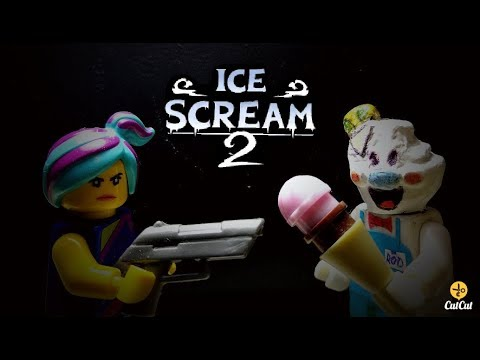 LEGO ICE SCREAM 2. The Lego Movie. Horror Movie.