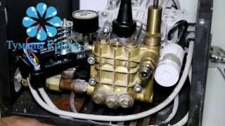 Ремонт насоса системы туманообразования, чистка байпаса,  обратные клапана, электромагнитный клапан(