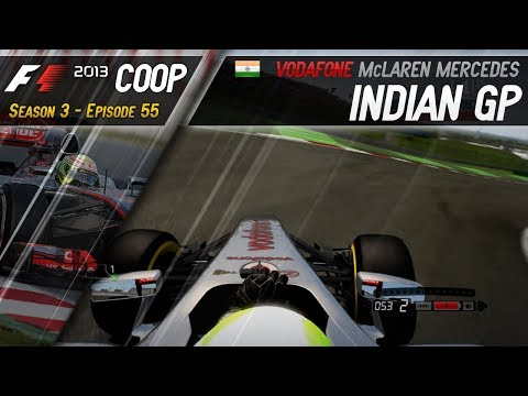 F1 2013 Coop | S3E55 - India | Massive Upset in the Championship