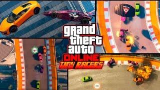 GTA 5 | MI PRIMERA CARRERA EN MODO TINY RACERS GTA V | XxStratusxX
