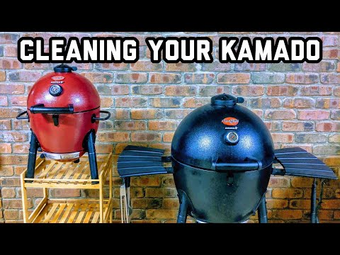 Cleaning and maintaining your Kamado BBQ