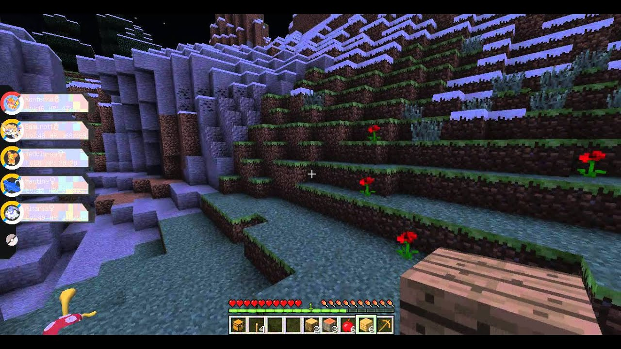 Прохождение игры майнкрафт с модом пиксельмон с друзьями
