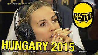 2015 Hungarian Grand Prix – Mystery Science Theater F1