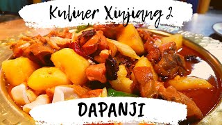 Kuliner Xinjiang 2, Dapanji (大盘鸡) | Sajian Jalur Sutra Otentik Kaya Rempah Asia Tengah