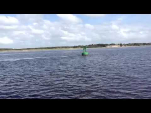 Sailing Up the Cape Fear River To Wrightsville Beach