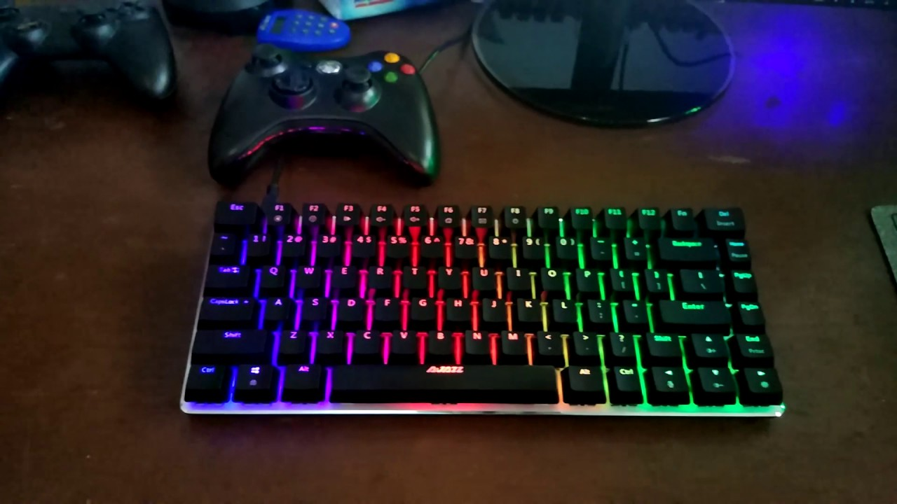 Ajazz Ak33 Rgb Youtube