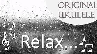 3 hours of Relaxing Ukulele Music – Lullaby – Rain Sounds – Meditation Music ♪♫♬