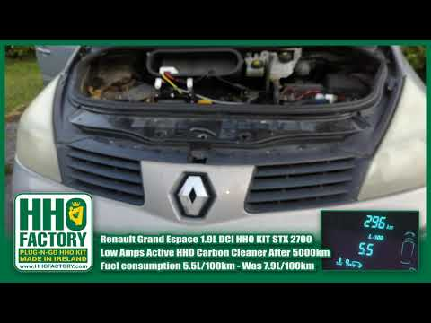 Renault Grand Espace 5.5L/100km 1.9L dCi HHO Fuel Saver kit up to 30% HHO KIT Carbon Clean STX 2700