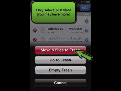 How to delete iPhone logs (Diagnostic & Usage Data)