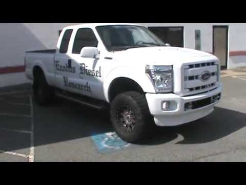2006 superduty conversion diesel - YouTube