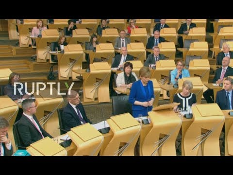LIVE: Sturgeon to outline future for Scotland in address to parliament