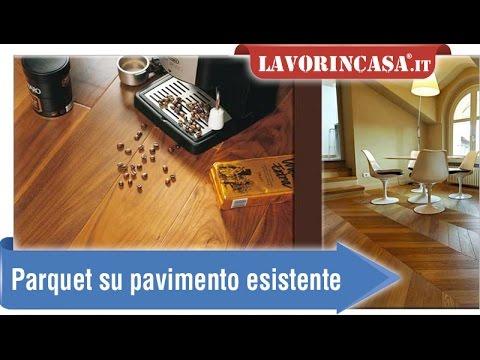 Parquet su pavimento esistente - YouTube
